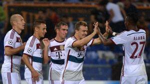 Le Bayern et Chelsea se baladent, Paris s'impose sur le fil