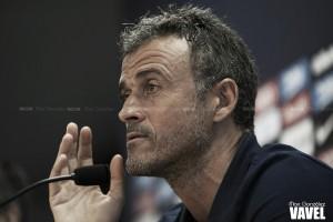 """Luis Enrique: """"El club busca un delantero puro, rápido y con olfato de gol"""""""