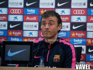 """Luis Enrique: """"Estoy satisfecho con el trabajo del equipo"""""""
