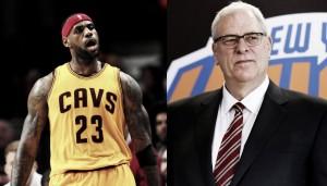 LeBron James le pierde el respeto a Phil Jackson