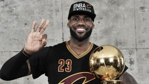 LeBron James agrees to new deal with the Cleveland Cavaliers
