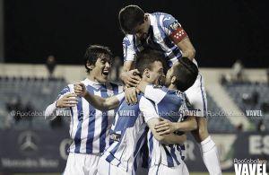 El Leganés cierra la primera mitad de Liga con buena nota