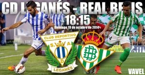 Leganés - Real Betis: a la caza del gigante en Butarque