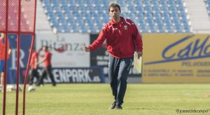 """Asier Garitano: """"Tenemos que correr más que contra el Alcorcón para tener opciones"""""""