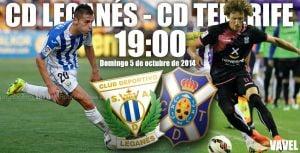 Leganés - Tenerife: duelo para definir fuerzas