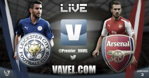 Leicester City vs Arsenal, Premier League en vivo y en directo online