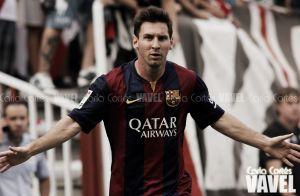 """Messi: """"Siempre es lindo que a uno le elogien"""""""