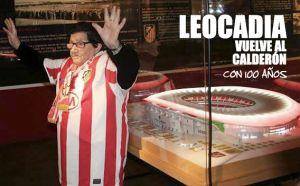 Leocadia vuelve al Vicente Calderón