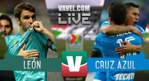 Resultado y goles del León (1-2) Cruz Azul en Liga MX