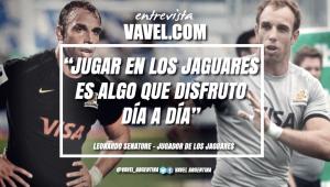"""Entrevista a Leonardo Senatore: """"A Jaguares no le falta un gran resultado, le falta encontrar su mejor versión"""""""