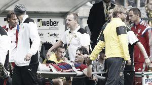 Javi Martínez, baja por rotura de ligamentos cruzados