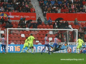Sporting - Levante: puntuaciones del Sporting, jornada 12 de la Liga BBVA