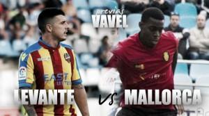 Previa Levante UD - RCD Mallorca: a por la quinta victoria consecutiva