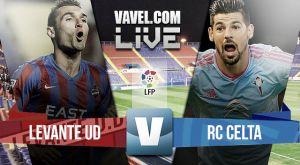 Levante vs Celta de Vigo en vivo y en directo online (0-1)