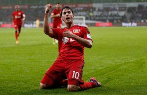 Bayern Leverkusen 1-0 Schalke: 10-man Leverkusen triumph at home