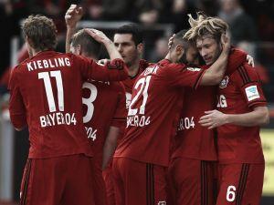 Bayer Leverkusen 1-0 SC Freiburg: Rolfes' rocket the difference as Leverkusen go fourth