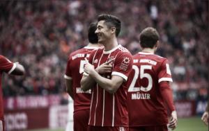 Robert Lewandowski, sin competencia en Alemania