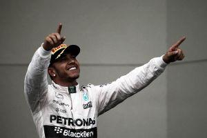 """Lewis Hamilton: """"Es una locura pensar ahora que soy tricampeón del mundo"""""""