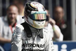 """Lewis Hamilton: """"Somos compañeros y siempre seremos amigos"""""""