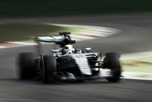 Mercedes alicata el rojo de Monza