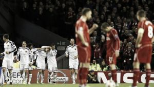 Liverpool 1-1 Basel: 10-man Reds bow out of Champions League despite late Gerrard free-kick