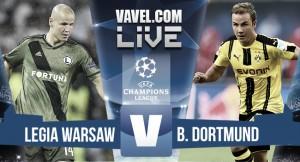 Devastating Dortmund put six past lacklustre Legia