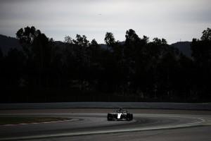Lewis Hamilton y Valtteri Bottas, los más trabajadores de la segunda jornada