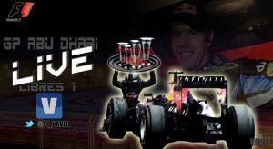 Entrenamientos Libres 1 del GP de Abu Dhabi de Fórmula 1 2013 en vivo y en directo online