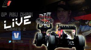 Entrenamientos Libres 2 del GP de Abu Dhabi de Fórmula 1 2013 en vivo y en directo online