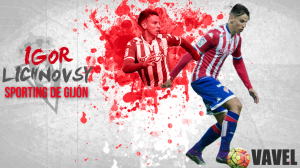 Sporting de Gijón 2015/2016: Igor Lichnosvsky, una cesión de dos partidos