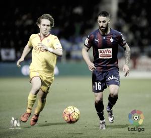 ¿Qué pasó la temporada pasada en el Eibar - Sporting?