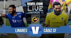 Resultado Linares - Cádiz en Segunda División B 2015 (0-1)
