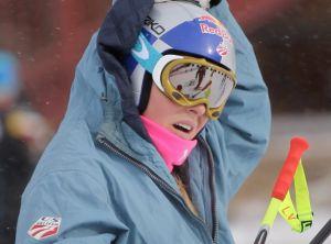 Lindsey Vonn di nuovo KO, a rischio le Olimpiadi