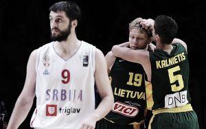 Lituania se mete en la final sorprendiendo a Serbia