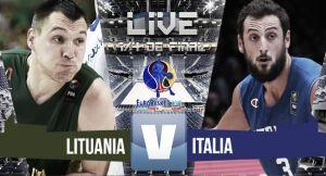 Resultado Lituania - Italia en el Eurobasket 2015 (95-85)