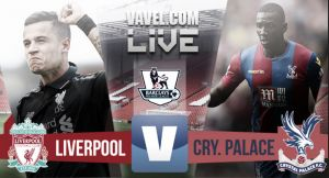Score Liverpool vs Crystal Palace in Premier League 2015 (1-2)