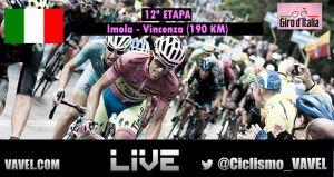 Resultado de la etapa 12 del Giro de Italia 2015