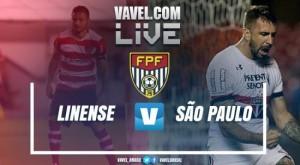Resultado São Paulo 5x0 Linense nas quartas de final do Campeonato Paulista 2017