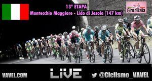 Resultado de la 13ª etapa del Giro de Italia 2015