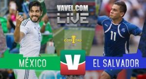 Partido y goles del México vs El Salvador en Copa Oro (3-1)