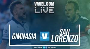 Resumen Gimnasia vs San Lorenzo en vivo por la Superliga (1-0)