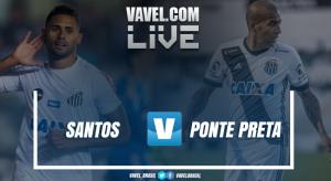 Resultado Santos x Ponte Preta no Campeonato Brasileiro (0-0)