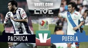 Pachuca vs Puebla en vivo online en Liga MX 2016 (0-0)