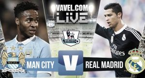 Score Manchester City vs Real Madrid in Friendly 2015 (1-4)