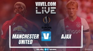 Resultado Manchester United x Ajax na Uefa Europa League 2016/17 (2-0)
