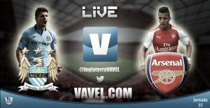 Manchester City vs Arsenal en vivo online