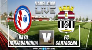 Rayo Majadahonda vs Cartagena en directo online y en vivo en playoff ascenso Segunda B