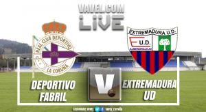 Resumen Deportivo Fabril 3 - 2 Extremadura UD Segunda División B