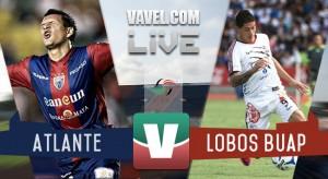 Atlante vs Lobos BUAP en vivo y en directo online en Semifinales Ascenso MX 2015 (0-0)