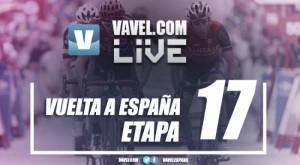 Resultado de la decimoséptima etapa de la Vuelta a España 2017: Denifl trunca el sueño de Contador